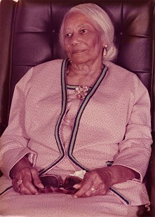 Randall Ferguson Sr.'s mother, Lula Ferguson © Pryor Center for Arkansas Oral and Visual History, University of Arkansas