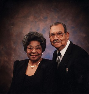 Lizzie and Randall Ferguson Sr., 1995 © Pryor Center for Arkansas Oral and Visual History, University of Arkansas