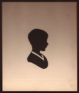 Childhood silhouette of Dan Ferritor, 1944 © Pryor Center for Arkansas Oral and Visual History, University of Arkansas