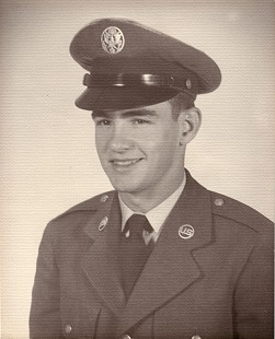 Dan Ferritor in uniform, Lackland Air Force Base, 1956-1957 © Pryor Center for Arkansas Oral and Visual History, University of Arkansas