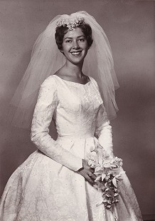 Wedding photo of Patsy Ferritor, 1962 © Pryor Center for Arkansas Oral and Visual History, University of Arkansas