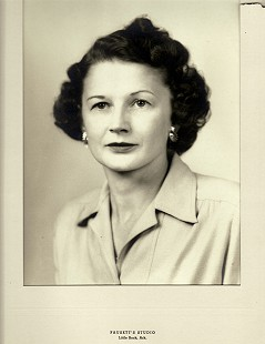 Dickson Flake's mother, Marguerite Flake © Pryor Center for Arkansas Oral and Visual History, University of Arkansas