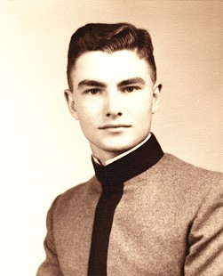Edmond Freeman, Citadel class photo, ca. 1943 © Pryor Center for Arkansas Oral and Visual History, University of Arkansas