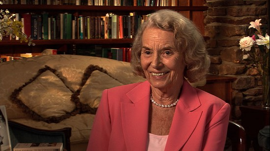 Still frame from Pryor Center video interview with Ellen Gilchrist; Fayetteville, Arkansas, 2010 © Pryor Center for Arkansas Oral and Visual History, University of Arkansas
