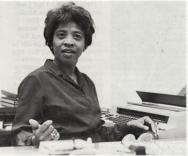 Dorothy Gillam at the Arkansas Department of Education, December, 1982.  © Pryor Center for Arkansas Oral and Visual History, University of Arkansas