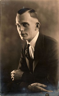 Portrait of Hank Haines's father, Harry Wilmer Haines © Pryor Center for Arkansas Oral and Visual History, University of Arkansas
