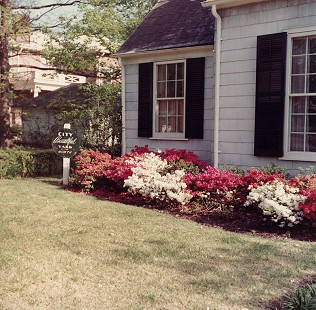 Hank Haines's boyhood home, City Beautiful Yard of the Month, Blytheville, Arkansas © Pryor Center for Arkansas Oral and Visual History, University of Arkansas