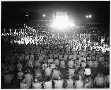 World War II GIs attending a performance © Pryor Center for Arkansas Oral and Visual History, University of Arkansas
