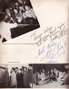 Autographs of Coretta Scott King and Dr. Martin Luther King Jr. © Pryor Center for Arkansas Oral and Visual History, University of Arkansas