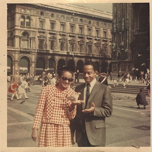 George Haley with his wife, Doris, in Venice © Pryor Center for Arkansas Oral and Visual History, University of Arkansas