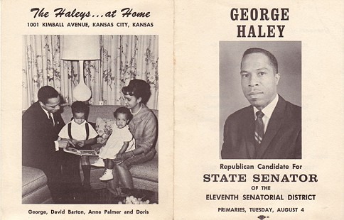 Kansas State Senate campaign flyer, 1964 © Pryor Center for Arkansas Oral and Visual History, University of Arkansas