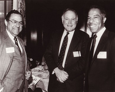 George Haley with Wiley Branton and George Kooh © Pryor Center for Arkansas Oral and Visual History, University of Arkansas