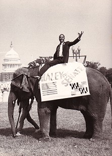 George Haley during his campaign for US Senator from Maryland © Pryor Center for Arkansas Oral and Visual History, University of Arkansas