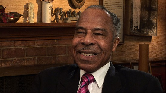 Still frame from Pryor Center video interview with George Haley; Silver Spring, Maryland, 2006 © Pryor Center for Arkansas Oral and Visual History, University of Arkansas