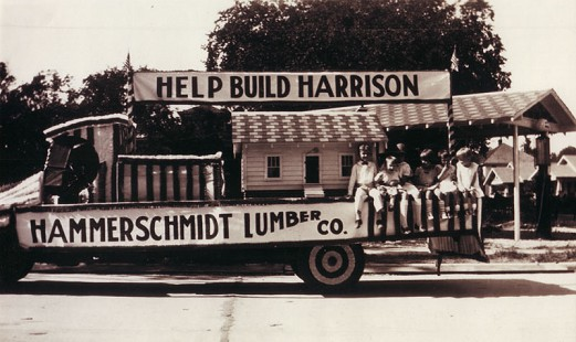 Hammerschmidt Lumber Company float                             © Pryor Center for Arkansas Oral and Visual History, University of Arkansas