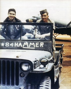 John Paul Hammerschmidt (right) sitting on a Jeep                             © Pryor Center for Arkansas Oral and Visual History, University of Arkansas