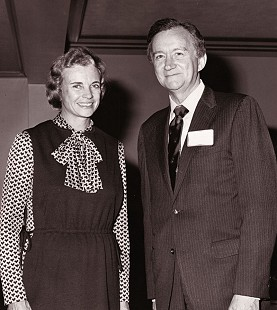 John Paul Hammerschmidt and Sandra Day O'Connor, 1981                                © Pryor Center for Arkansas Oral and Visual History, University of Arkansas