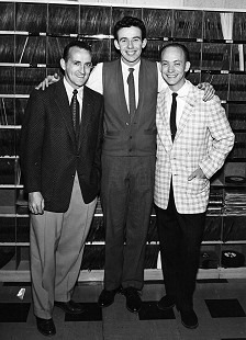 Dale Hawkins (center) © Pryor Center for Arkansas Oral and Visual History, University of Arkansas