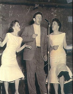 Dale Hawkins with two singers © Pryor Center for Arkansas Oral and Visual History, University of Arkansas