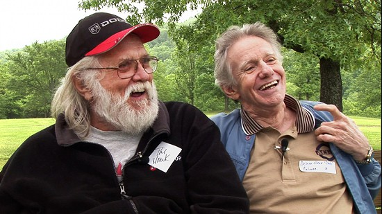 Ronnie and Dale Hawkins at the Hawkins Family Reunion; Pettigrew, Arkansas, 2006 © Pryor Center for Arkansas Oral and Visual History, University of Arkansas