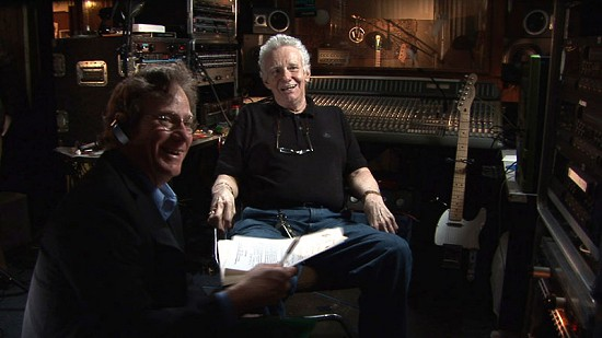 Still frame from Pryor Center video interview with Dale Hawkins at Hawk's Nest Recording Studio; North Little Rock, Arkansas, 2008 © Pryor Center for Arkansas Oral and Visual History, University of Arkansas