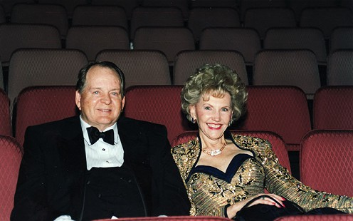 J. B. and Johnelle Hunt at the Walton Arts Center, Fayetteville, Arkansas © Pryor Center for Arkansas Oral and Visual History, University of Arkansas