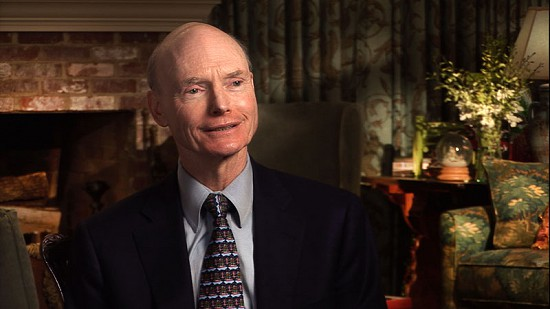 Still frame from Pryor Center video interview with Walter E. Hussman Jr. at the home of Marilynn and Robert Porter; Little Rock, Arkansas, 2011 © Pryor Center for Arkansas Oral and Visual History, University of Arkansas