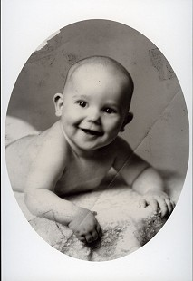 Portrait of Chester Johnson at 6 months; Galveston, Texas, 1945 © Pryor Center for Arkansas Oral and Visual History, University of Arkansas
