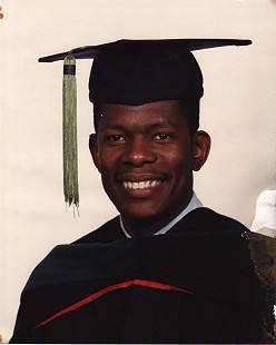 College graduation portrait of Bobby Jones, 1984 © Pryor Center for Arkansas Oral and Visual History, University of Arkansas
