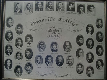 Senior class of Knoxville College, 1948 © Pryor Center for Arkansas Oral and Visual History, University of Arkansas