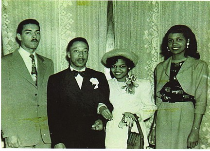 Edith Irby Jones at her wedding © Pryor Center for Arkansas Oral and Visual History, University of Arkansas