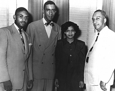 Edith Irby Jones as part of the Freedom Four © Pryor Center for Arkansas Oral and Visual History, University of Arkansas