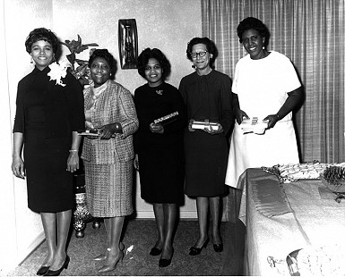 Edith Irby Jones at the Barbara Jordan Ladies' Social © Pryor Center for Arkansas Oral and Visual History, University of Arkansas