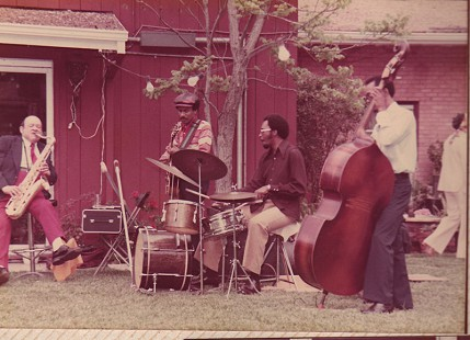 Band at a surprise party for Edith Irby Jones © Pryor Center for Arkansas Oral and Visual History, University of Arkansas