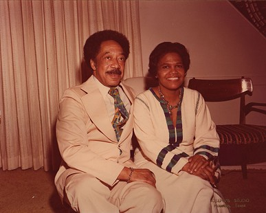 Edith Irby Jones with her husband © Pryor Center for Arkansas Oral and Visual History, University of Arkansas