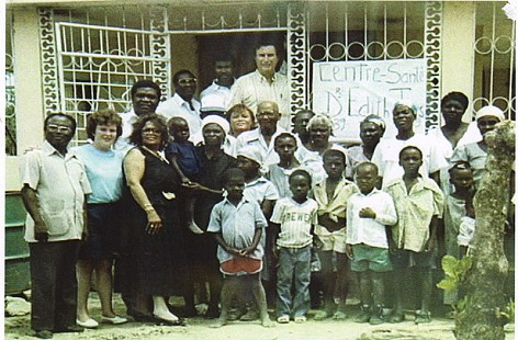 Edith Irby Jones in Haiti © Pryor Center for Arkansas Oral and Visual History, University of Arkansas