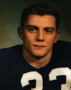 Jerry Jones football portrait © Pryor Center for Arkansas Oral and Visual History, University of Arkansas