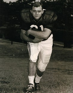 Jerry Jones, Razorback football photo, University of Arkansas © Pryor Center for Arkansas Oral and Visual History, University of Arkansas