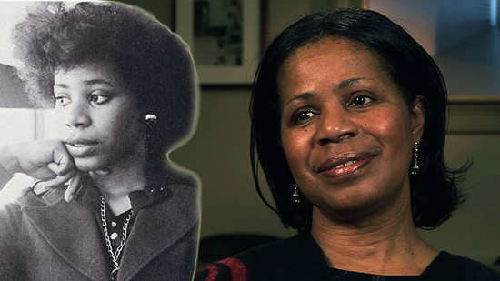 Composite image of early photo of Janis Kearney and still frame from Pryor Center video interview © Pryor Center for Arkansas Oral and Visual History, University of Arkansas