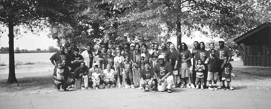 Kearney Reunion in Pine Bluff Park, Arkansas, ca. 1999 © Pryor Center for Arkansas Oral and Visual History, University of Arkansas