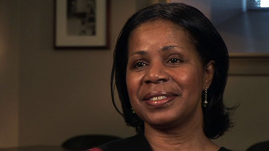 Still frame from Pryor Center video interview with Janis Kearney; Fayetteville, Arkansas, 2006 © Pryor Center for Arkansas Oral and Visual History, University of Arkansas