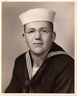 Bob Lamb Navy picture 1956 © Pryor Center for Arkansas Oral and Visual History, University of Arkansas