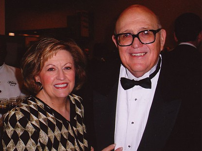 Bob and DeeDee Lamb at a black-tie event © Pryor Center for Arkansas Oral and Visual History, University of Arkansas