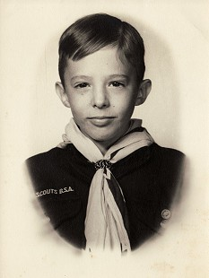 David Lambert's Boy Scout portrait, ca. 1949 © Pryor Center for Arkansas Oral and Visual History, University of Arkansas