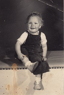 Bill Lancaster, 1 year, 6 months old, 1948 © Pryor Center for Arkansas Oral and Visual History, University of Arkansas
