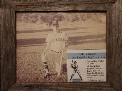 Bill Lancaster, state batting champion, 1964 © Pryor Center for Arkansas Oral and Visual History, University of Arkansas