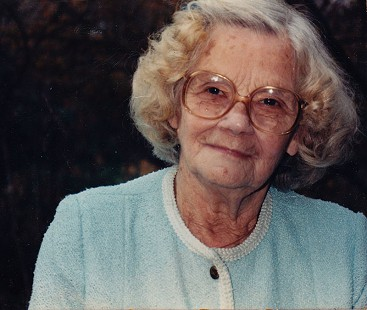 Bill Lancaster's mother, Pauline Speck Lancaster, ca. 1986 © Pryor Center for Arkansas Oral and Visual History, University of Arkansas