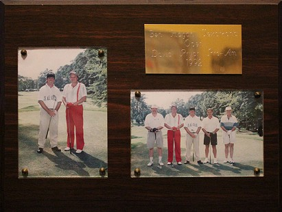 Bill Lancaster (1st photo: right; 2nd photo: 2nd from left) with friends at the Ben Hogan Texarkana Open/David Pryor Pro-Am, 1992 © Pryor Center for Arkansas Oral and Visual History, University of Arkansas