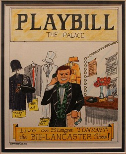 Playbill for a Bill Lancaster comedy show, December 1992 © Pryor Center for Arkansas Oral and Visual History, University of Arkansas