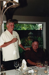 Bill Lancaster (right) with Governor Mike Beebe, 2012 © Pryor Center for Arkansas Oral and Visual History, University of Arkansas